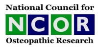 National Council of Osteopathic Research Logo